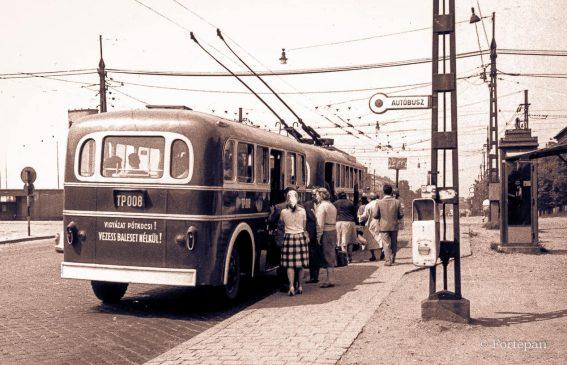 XA 15-371960.01.04-1960.11.14Átadva FVV részére - trolibusz pótkocsiTP-001
